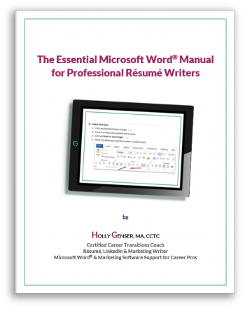 National Resume Writers Association Recommended Books