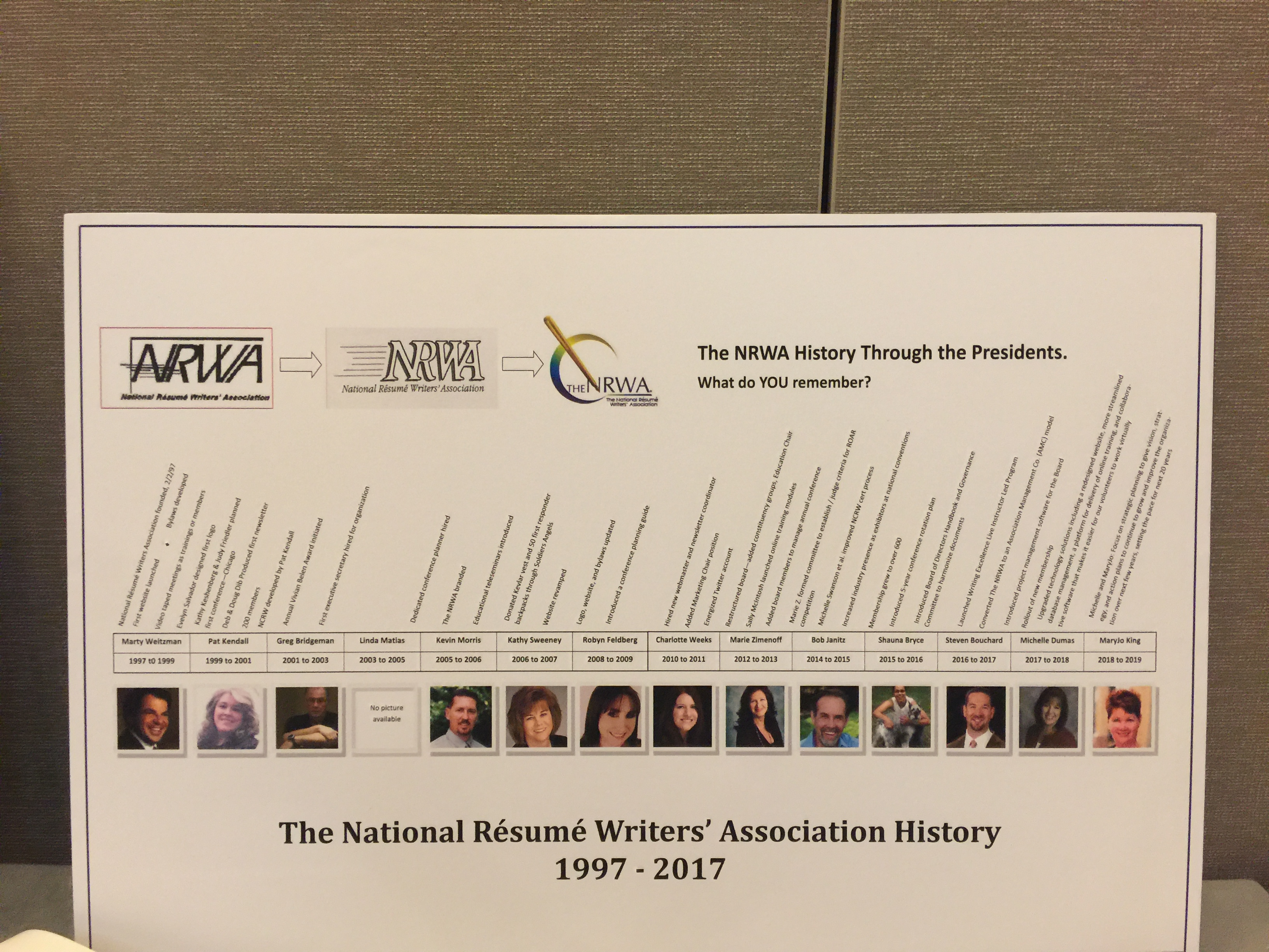 celebrating 20 years of resume writing excellence - National Resume Writers Association